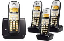 Siemens Gigaset A260 Schnurlos Analog Telefon mit 4 Mobilteile (QUATTRO)