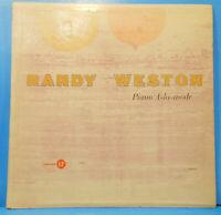 RANDY WESTON PIANO A-LA MODE LP 1957 RE '59 MONO GREAT CONDITION! VG+/VG+!!