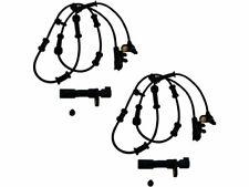 For 2007-2016 Jeep Wrangler ABS Wheel Speed Sensor Set 92246ZM 2013 2008 2009