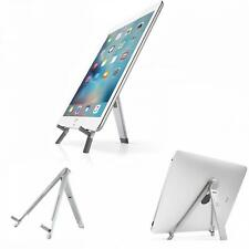 ALUMINUM DESKTOP STAND FOLD-UP TRAVEL PORTABLE TABLET AND PHONE HOLDER DOCK