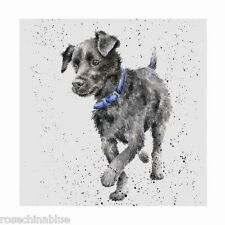 Wrendale Designs A Dog's Life Greeting Card  Patterdale Terrier
