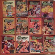 Servicio Secreto Mexican Comic, Spanish, In Color, (80's) Lot Of 12