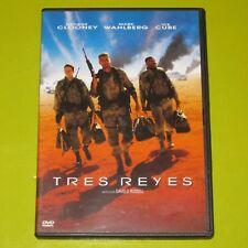 DVD.- TRES REYES - GEORGE CLOONEY - MARK WAHLBERG
