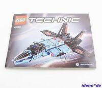 LEGO INSTRUCTION DE MONTAGE Techniques De Technic 42066 Air Planeur Jet TOP réf.