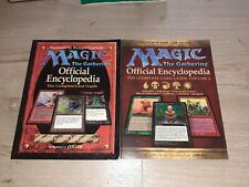 Magic The Gathering Official Encyclopedia The Complete Card Guide Volume 1 Et 2