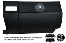 GREY STITCHING GLOVE BOX LEATHER COVER FITS CHRYSLER CROSSFIRE 03-08