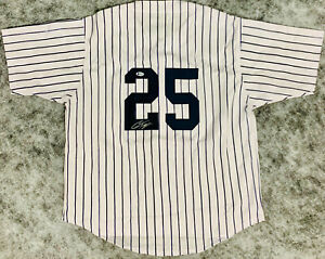New York Gleyber Torres Signed Jersey Autographed - Beckett BAS Auto