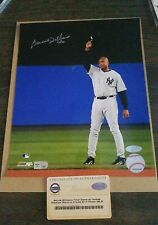 Bernie Williams signed 8x10 Photograph Steiner COA