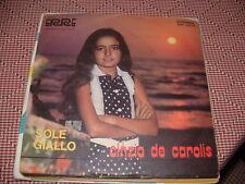 "CINZIA DE CAROLIS "" IN MOTORETTA - SOLE GIALLO  ""  ITALY'72"