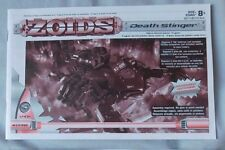 ZOIDS #036 DEATH STINGER ACTION FIGURE INSTRUCTION BOOKLET