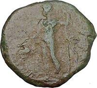 TRAJAN 98AD DIONYSUS Roman Provincial Mint Authentic Ancient Coin i45437