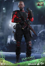 """Deadshot Will Smith Suicide Squad DC Comics MMS381 12"""" Figur Hot Toys"""