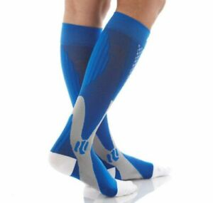 Firm Pressure Circulation Orthopedic Support High Knee Socks Unisex Spandex Type