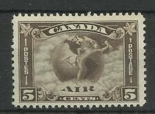 1930 5c Deep Brown Sg 310, Lightly Mounted Mint. {Imp-117}