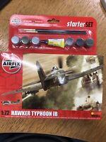 Airfix Medium Starter Set 1:72 Scale: Hawker Typhoon IB (A55208) *NEW*