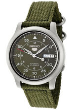 Seiko 5 Automatic SNK805 SNK805K2 Mens Green Dial Day Date Watch
