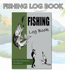A5 Fishing Diary, Fishermans Log / Journal, Anglers Diary / Log, Cover 9