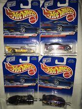 1999 First Editions HOT WHEELS Tacoma #19 Pontiac 7 Turbulence 18 Porsche 10 NIP