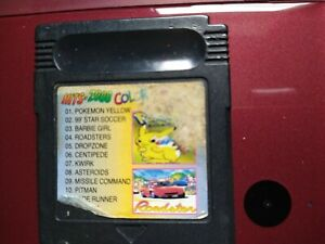nintendo gameboy colour games Hits 2000, inc. Pokemon Yellow