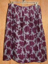 Liz Claiborne Ladies Skirt ~ Gray Wine ~ Size 4