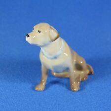 Labrador Lomonosov Porcelain Figurine, Russia USSR IFZ