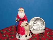 Dollhouse Christmas Vintage Santa #7