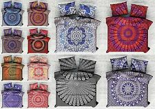 5 Pc Wholesale Lot Indian Cotton Duvet Cover Handmade Quilt Cover Doona Cover