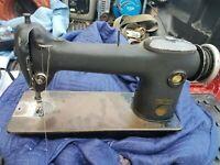 Vintage SINGER 241-12 Industrial Sewing Machine.