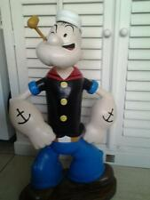 Extremely Rare! Popeye Standing Giant Figurine Statue