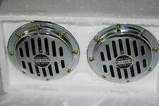 FOR PORSCHE BMW MERCEDES VW BUS SET CHROME OLDTIMER FANFAREN NEW RETRO STYLE NEW