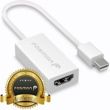 Fosmon Mini Display Port DP to HDMI Adapter Cable For Macbook Pro Air iMac Mac