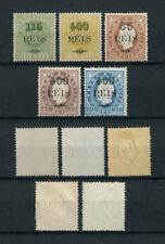 Portugal St. Thomas Sao Tome CROWN D. LUIS 1905 REPRINTS complete set MH, FVF