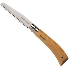 OPINEL No 12 Folding pruning saw 12cm blade safety lock carbon steel pull action