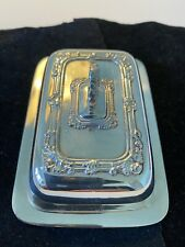 Vintage Miniature Silver Plated Entree/Butter Dish
