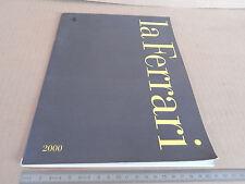 BROCHURE ORIGINALE LA FERRARI 2000 MODENA 360 550 MARANELLO DEPLIANT PROSPEKT
