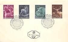 FDC Austria Österreich 1959 -  Congresso Internazionale Caccia Viena