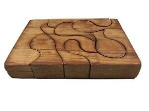 Vintage Wooden Puzzle 19 X 14
