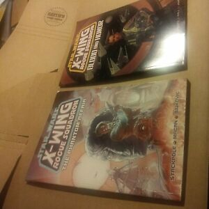 """STAR WARS X-WING ROGUE SQUADRON TPB LOT """"THE PHANTOM AFFAIR""""& """"BLOOD and HONOR"""""""