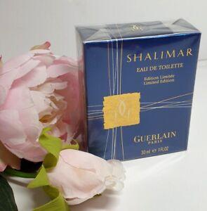 GUERLAIN SHALIMAR 30 ML EDT SPRAY, LIMITED EDITION, (BAT SHAPED BOTTLE),  2001