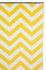 FabHabitat Outdoor Indoor Mats Rugs Australia LAGUNA Yellow & White 120x179cm