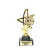 Best Trophy Award- First- Greatest- Top Rated- Desktop Series- Free Lettering