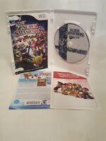 Super Smash Bros. Brawl (Nintendo Wii, 2008) CIB Complete with Manual