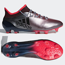 adidas X 17.1 FG Mens Football Boots Black Firm Ground Coral DB1400 SIZE 10.5 UK