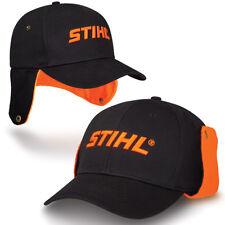 Stihl Black/Orange Winter Cap/Hat...Nice