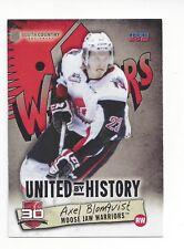 2014-15 Moose Jaw Warriors (WHL) Axel Blomqvist (Osby IK)