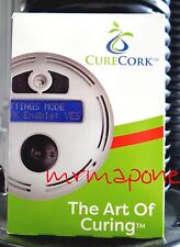 Digital CureCork Fully Programmable Herb Aerator automatic burping humidity 420