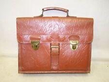 Alte Schultasche Leder Aktentasche Ledertasche Schulranzen Vintage
