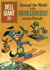 RARE DELL GIANT HUCKLEBERRY HOUND #44 JULY 1961 NM