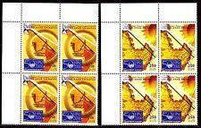 UAE 2000 ** Mi.643/44 Bl/4 Meteorologie WMO Meteorology