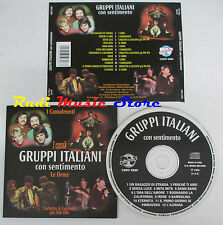 CD GRUPPI ITALIANI con sentimento I CAMALEONTI CORVI LE ORME DIK DIK 1996 (C12)